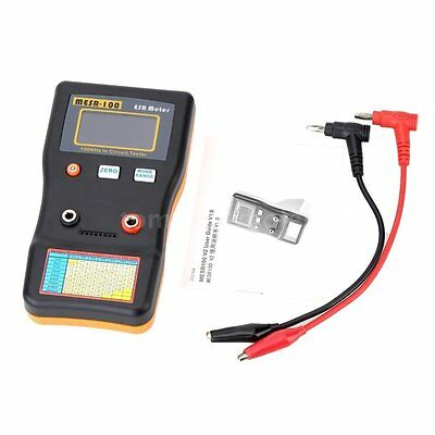 New MESR100 Auto Ranging in Circuit ESR Capacitance Meter Ohm Tester Capacitor