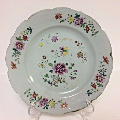 18th Chinese Export Porcelain Plate 9""