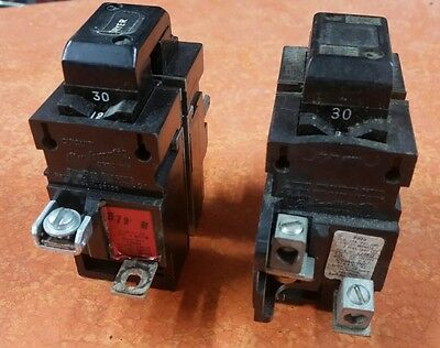 Circuit Pushmatic Breakers 30 Amp Breaker 2 Pole 120/240 Volt P230 USA