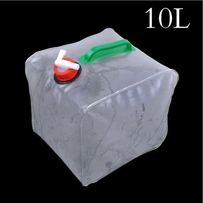 10 L Portable folding Water Container water Storage tank Outdoor PVC water cube