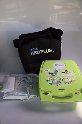 Zoll AED Plus Automated Defibrillator New