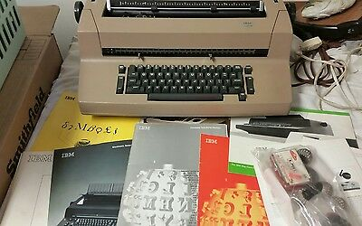 Vintage IBM Correcting Selectric II Electric Typewriter Not Working with Extras