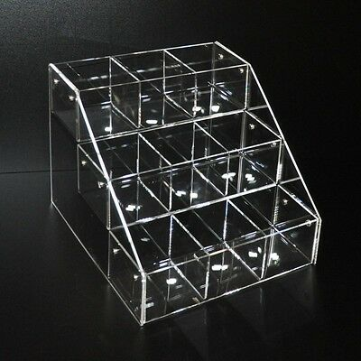 Crystal Clear Acrylic Stairs 9 boxes Candy display stepped riser