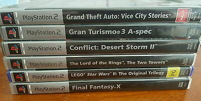 6 PlayStation 2 Games (PAL)