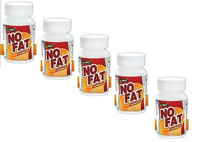100% NATURAL WEIGHTLOSS SOLUTION NoFat 100% Ayurvedic Product set of 5 Bottle