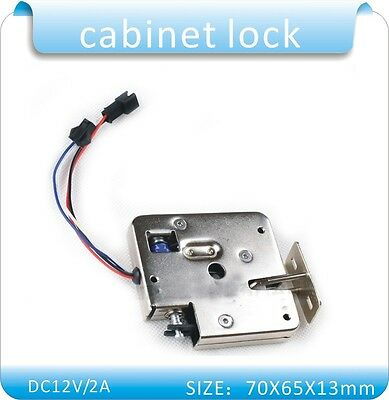 12/24VDC Cabinet Access Control Stainless Steel Magnetic Content Electronic Lock