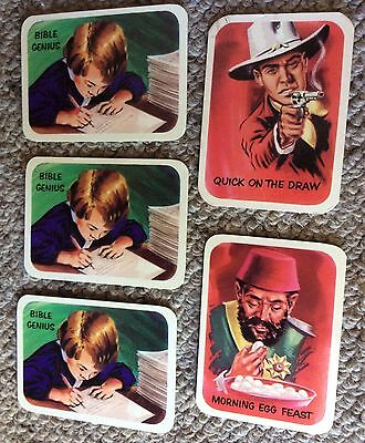 Vita-Brits Vintage Ripley's Believe it or Not Collector Cards 5 cards 3 diff