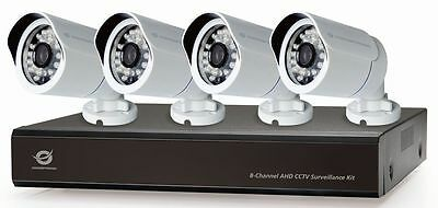 Conceptronic 8-Channel AHD CCTV Surveillance Kit with 2TB WD