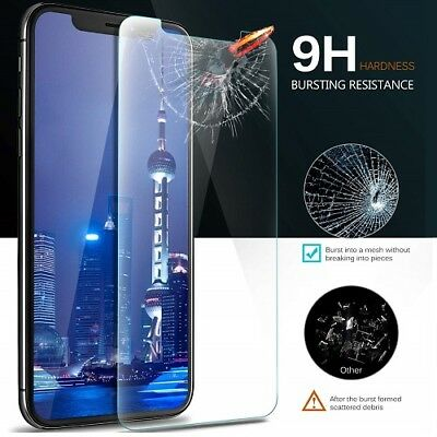 Premium Tempered Glass Screen Protector for iPhone 7 8 Plus X XS MAX XR 6 6s SE