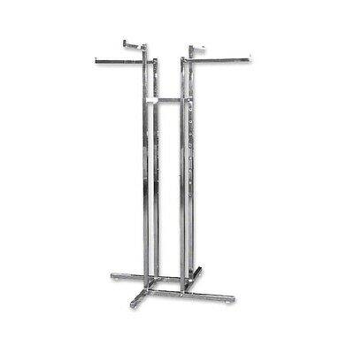 4 Way Rack With All Straight Arms Garment Clothes Clothing Rail Hanger Holder