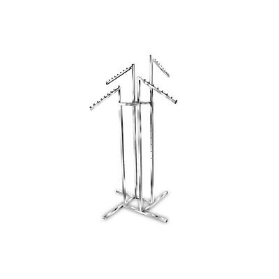 4 Way Rack With all Waterfall arms Garment Clothes Clothing Rail