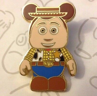 Sheriff Woody Vinylmation Collectors Set Toy Story Disney Pin Buy 2 Save $