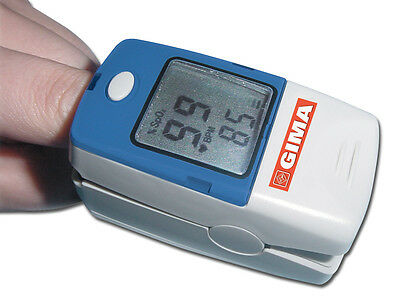 OXY-5 FINGERTIP OXIMETER monitor pulse oxygen saturation pulse rate CE approved