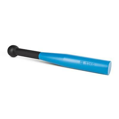Capital Sports 12 Kg Strength Bludgeon Clubbell Home Fitness Gym Black / Blue