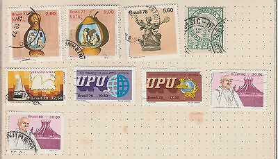BRAZIL COLLECTION UPU, Pope...on Old Album Page, As per Scan (Removed to Ship) #