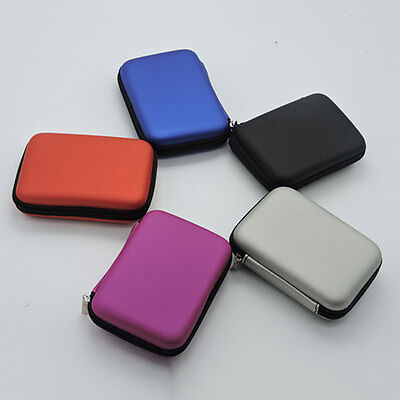 2.5Inch Shock Proof Protection Zipper Case For HDD Phone Storage Carry Bag