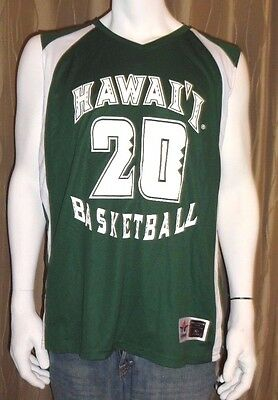 Hawaii Womens Basketball Jersey #20 Game Quality Reversible S/M/LG/XL  NWT $75