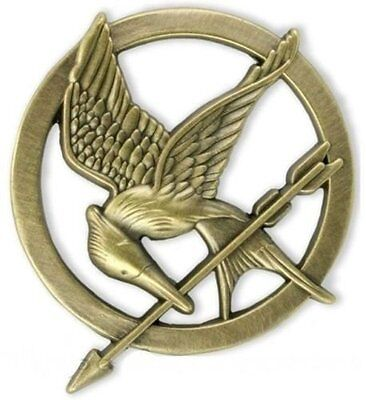 The Hunger Games Katniss Everdeen Cosplay Prop Mockingjay Pin Brooch Badge Gift