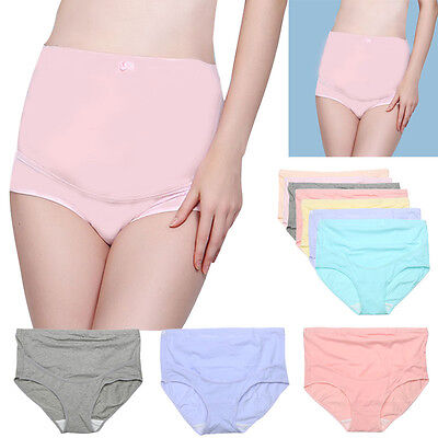Pregnant Women Maternity Underwear Briefs Breathable Cotton Belly Care Panties
