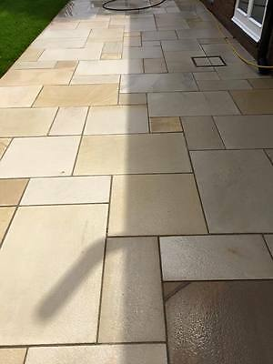 Mint Fossil Natural Indian Sandstone Sawn & Shotblasted (Different Variations)