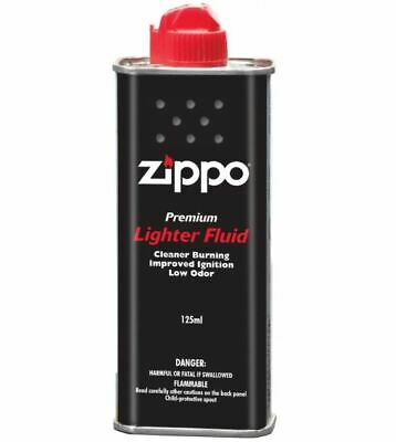 Bulk 3 x Zippo Cigarette Genuine Lighter Premium FLUID Fuel Petrol Refill 125ml