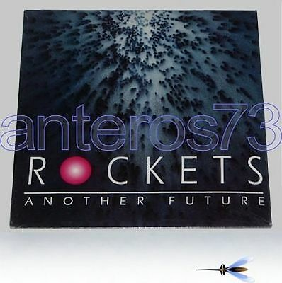 """Rockets """"another Future"""" Rare Lp Made In Italy 1992"""