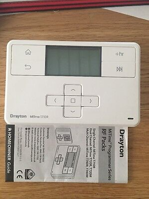 DRAYTON T710R MiTime RF wireless room thermostat only no receiver