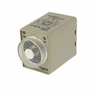 AC 110V Power on Delay Timer Time Relay 0~30 Second AH3-3 DPDT 8 Pin 30 Second 8