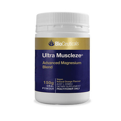 BioCeuticals Ultra Muscleze High Strength Magnesium Powder 150g