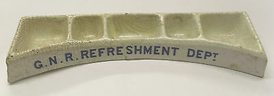 Great Northern Railway Rare Five Compartment Condiments Tray - Damaged/repaired