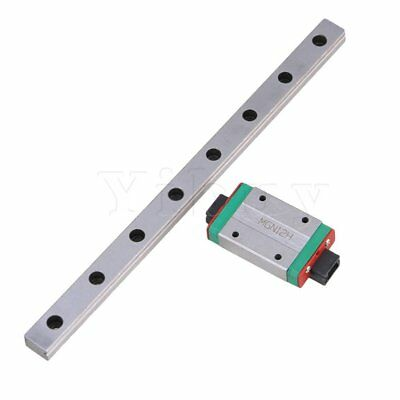 High Precision 200mm MGN12 Linear Sliding Guide Rail Extension Block Tool Set
