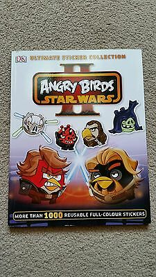 Star Wars Angry Birds II Ultimate Sticker Collection (New)