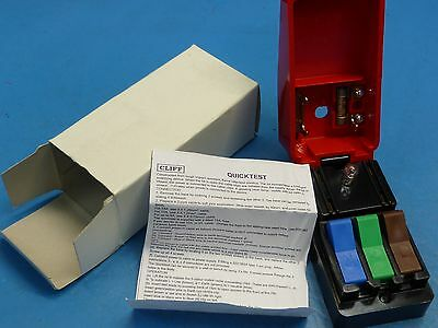 Cliff Electronic Quicktest Mains Connector Test Block 230V 13A - No Lead