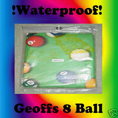 """GREEN POOL TABLE COVER TO SUIT 7 - 8"""" TABLES Xmas is Coming"""
