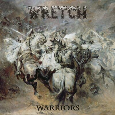 WRETCH - Warriors 2-BLACK VINYL + PATCH