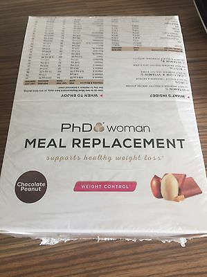 phd woman meal replacement bars 12 X 60g