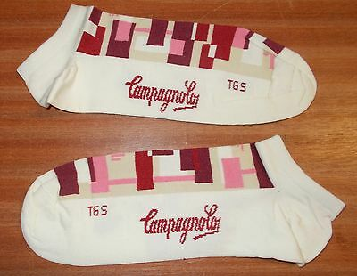 Campagnolo L402 M.S System Women's Cycling Bike Cycle Socks SMALL Optical PU