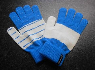 Campagnolo Heritage Wool Cycling Gloves size S-M BLUE/WHITE *****