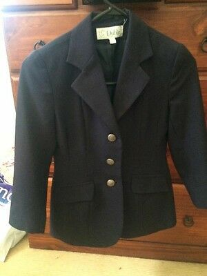 Childs Size 8 Equestrian Showing Jacket