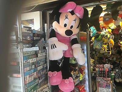 """GIANT XL LARGE 42"""" OFFICIAL DISNEY MINNIE MOUSE SOFT TOY PLUSH DOLL vgcc"""