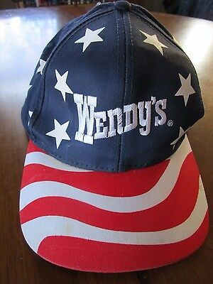 Wendy's Old Fashioned Hamburgers Sept. 11th, 2001 Commemorative Ball Cap(New)