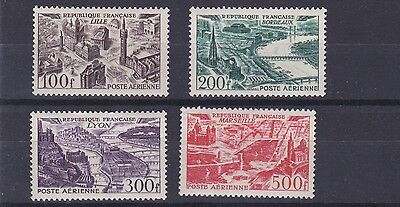 France  1949    S G 1055 -  1058 Airs To 500F   Mnh  Cat £165