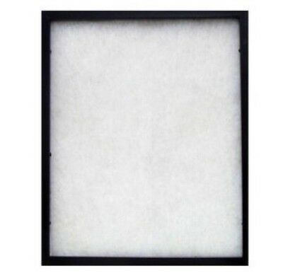 """Black 16"""" x 20"""" Shallow Front-Load Display Case  Shadow Box Collectible Case New"""