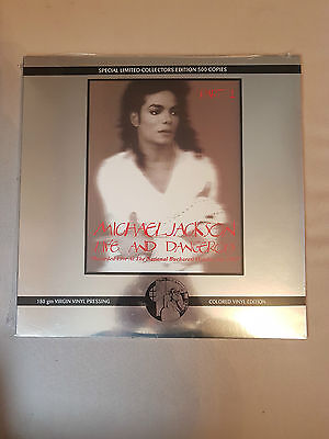 "Michale Jackson "" Live And Dangerous Part 1 "" New Vinyl Sealed"