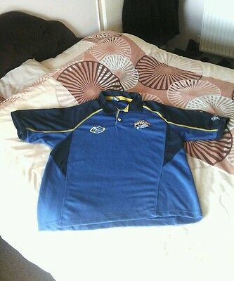 Official Isc Leeds Rhinos Rugby League Polo Shirt-Very Good Condition.