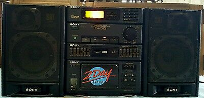 SONY HST- 313 stereo cassette deck receiver
