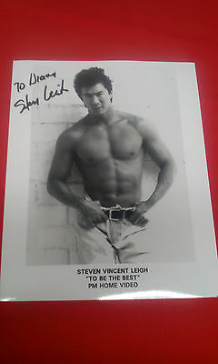 Steven Vincent Leigh autographed 8x10 movie photo signed photograph to diana