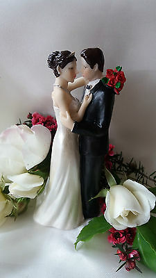 Romantic wedding cake topper decoration figurine bride and groom Personalised