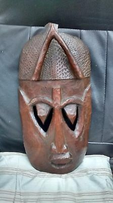 african tribal death voodoo mask