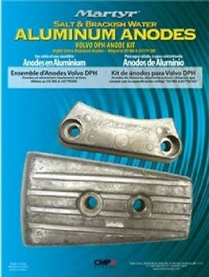 Anode Kit Aluminium for Volvo Penta DPH